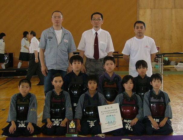 第60回県総合体育大会スポ少剣道競技