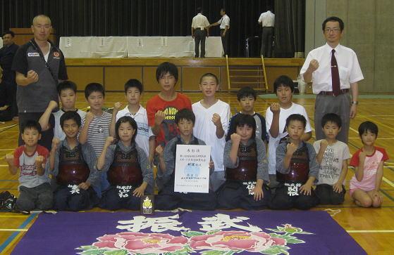第61回福島県総合体育大会スポーツ少年団体育大会剣道競技