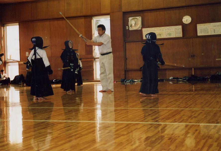 2005年 練習指導風景